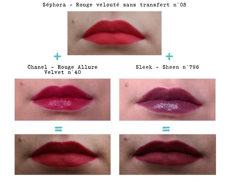astuce rouges à lèvres mats